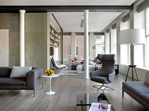 An Industrial-Inspired Apartment With Sophisticated Style : Sophisticated New York City Loft