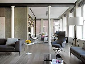 Sophisticated new york city loft for Interior decorators new york city