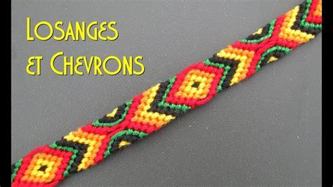 bracelet brésilien soto caro tuto bracelet br 233 silien losanges et chevrons