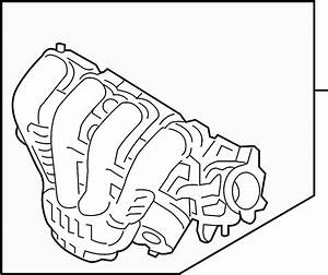 Mercury Milan Engine Intake Manifold  Liter  Hybrid