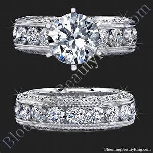 Spectacular 420 ctw top quality round diamond engagement for Best quality wedding rings