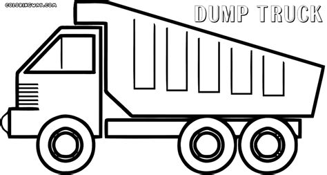 are coyotes color blind dump truck coloring pages dump truck coloring pages