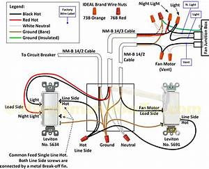 Illuminated Light Switch Home Wiring Diagram