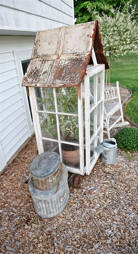 Why not for your diy greenhouse? DIY Window Greenhouse - Liz Marie Blog