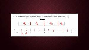 Partitioning A Tape Diagram To Show Multiplication