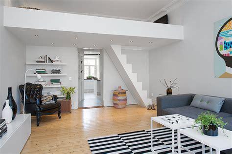 decorating a small loft custom built small loft apartment in stockholm idesignarch interior design architecture