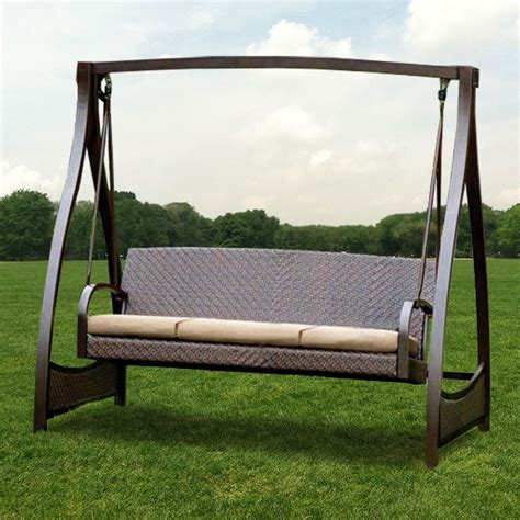canapé swing patio swing set costco outdoor furniture design and ideas