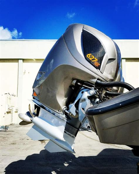 Outboard Bass Boat Motors by Seven Marine 627 Outboard With Gt Gear моторные