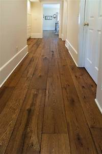 reclaimed wood floor Antique Resawn Oak Hardwood Flooring - Traditional - Hall - Other - by Olde Wood Ltd.