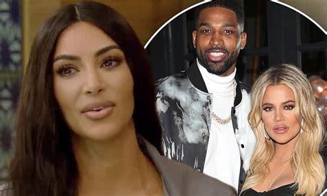 Kim Kardashian Treads Carefully When Grilled About Khloe