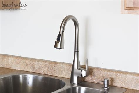 parts for moen kitchen faucet how to replace a kitchen faucet honeybear