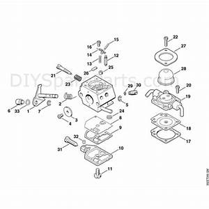 Stihl Ht 70 Pole Pruner  Ht70  Parts Diagram  E