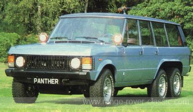 panther westwinds  uk range rover classic