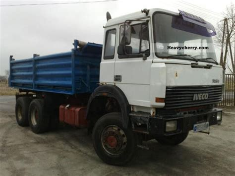 Iveco Magirus 260e34 6x6 Truck Turbo Engine Deutz 1992