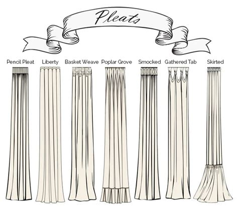 different drapery pleat styles all you need to about curtains custom curtains
