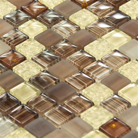 pate de verre mosaique mosa 239 que en verre arlequin marron indoor by