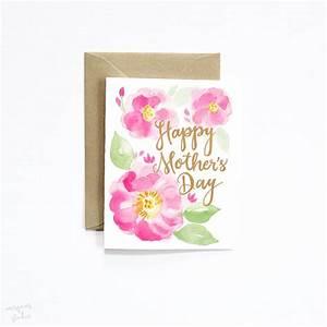 Watercolor Floral Mother's Day Cards | Super Unique ...