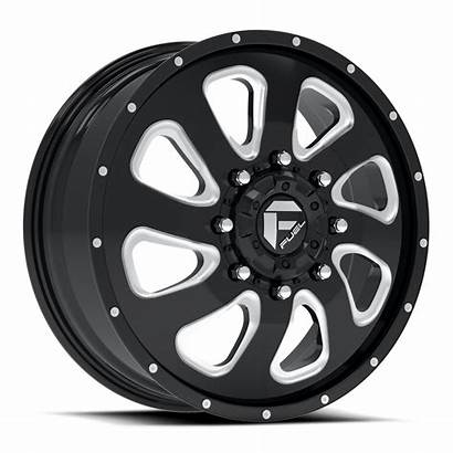 Dually Wheels Fuel Flow D269 Milled Gloss