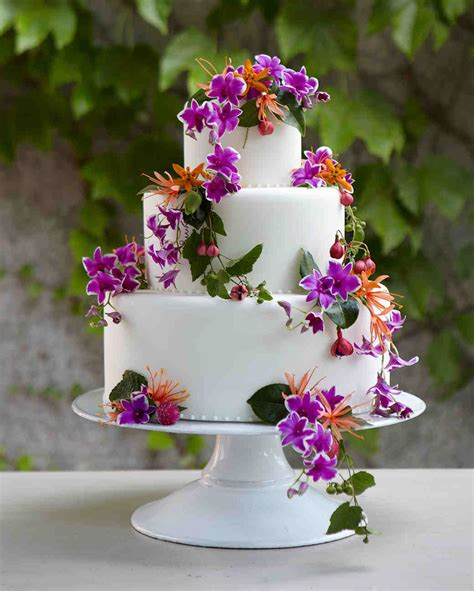 amazing beach wedding cakes martha stewart weddings
