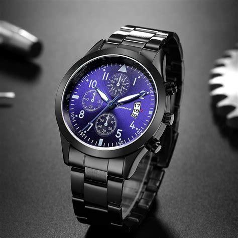 relojes hombre  men fashion sport quartz clock mens watches top brand luxury business