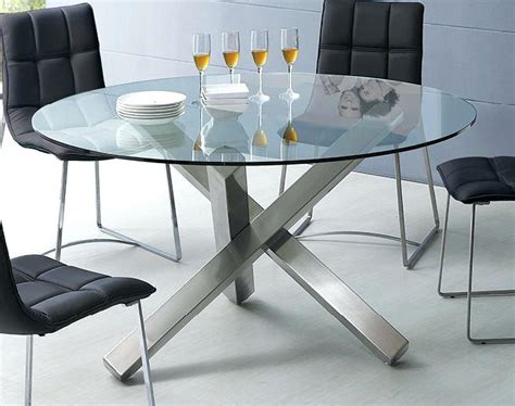 Dining Table Bases For Glass Tops Top Pretty Dining Room