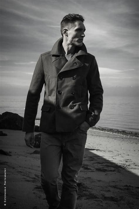 jordan bradley fashion peacoat mens headshot bw