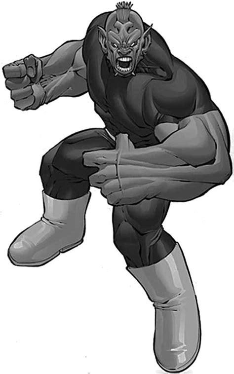 Ogre - Champions super-hero tabletop RPG - Character ...