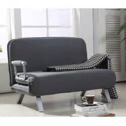 homcom convertible sofa bed sleeper lounger chair living
