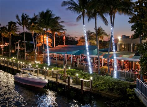 Boat Club Delray Beach Florida by Relax At The Best Waterfront Restaurants In South Florida