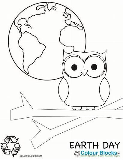 Coloring Earth Pages Worksheets Kindergarten Printable Preschool