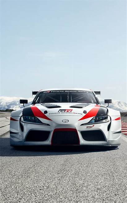 Supra Toyota Gr Racing Concept Mobile 4k