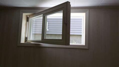 Unique Basement Egress Window — New Home Design