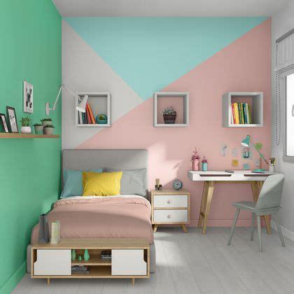 Peinture Chambre Bebe Fille Triangle
