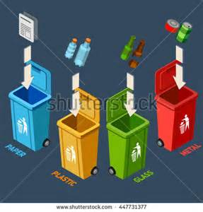 Waste Management Recycle Bins