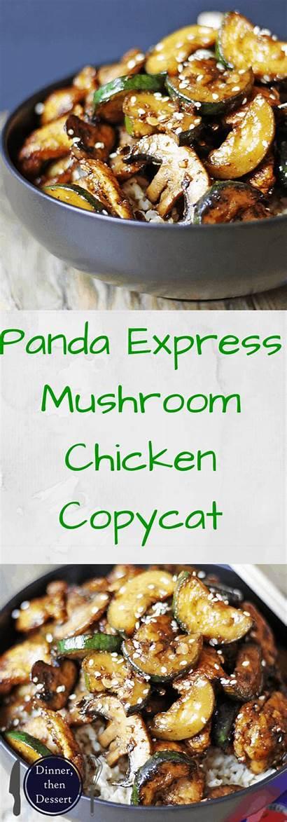 Chicken Mushroom Panda Express Sitting Zucchini Recipe