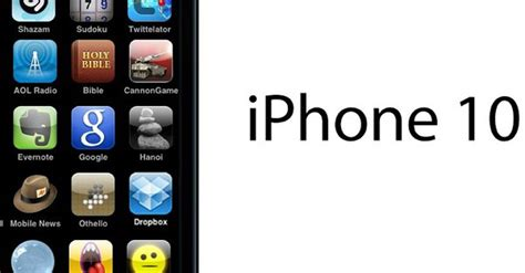 what will the iphone 10 look like behold the iphone 10 photo
