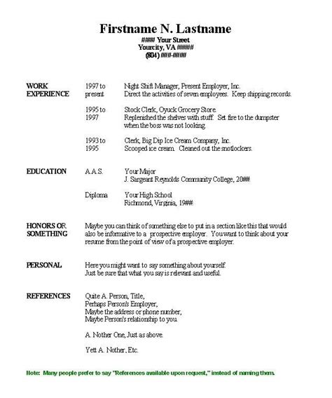 free blank resume templates for microsoft word lovely free blank resume templates for