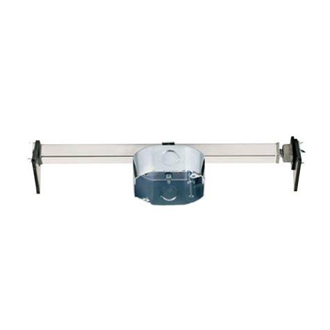 ceiling fan mounting box 15 5 cu in retrofit ceiling fan saf t brace 0110000