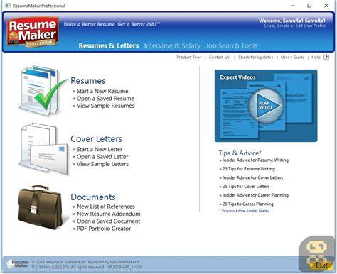 Resume Maker by دانلود Resumemaker Pro 20 1 0 120 نرم افزار ساخت رزومه