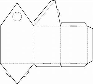 triangle packaging template - triangle box template pdf images