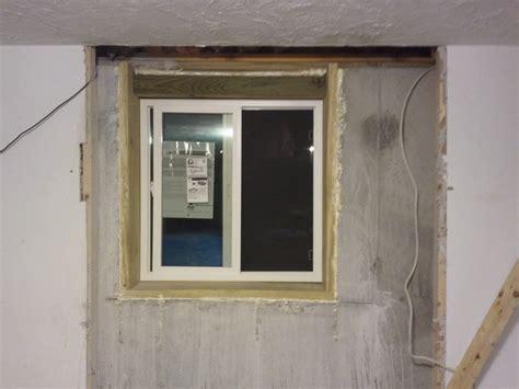 Window Installation How To Install Basement Window