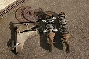 Steering Rack  U0026 Suspension Off