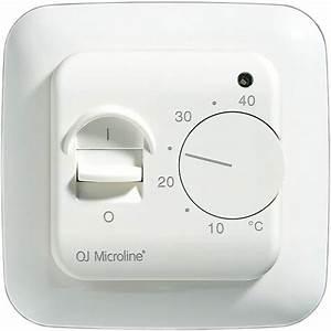 Oj Microline U00ae  Off Thermostats