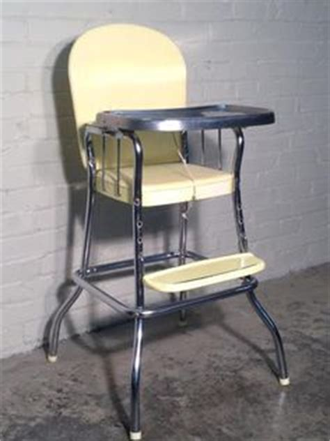 1950s vintage high chair on high chairs baby