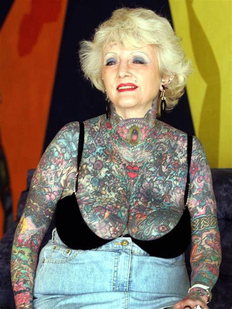isobel varley world s most tattooed female senior citizen dies aged 77 the independent