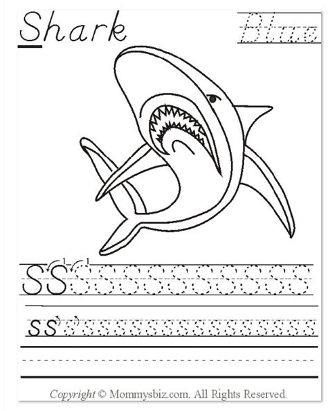 Mommysbiz  Ssharkblue Preschool Worksheet By Danahaynes On Deviantart