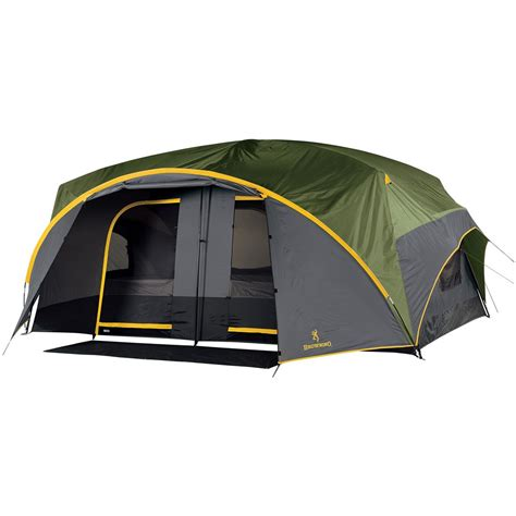 Cing Hammock Brands by Browning 174 Palisade Cabin Dome Tent Black Cool Grey