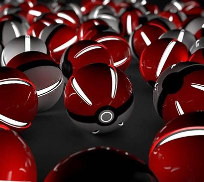 Pokemon 3d Background Ball Cool Wallpapers Pokeballs