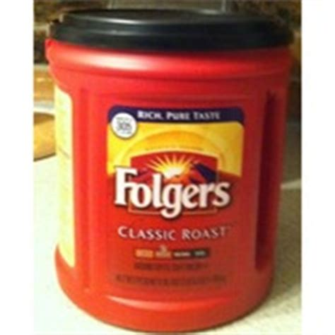 I would recommend this product for anyone on the. Folgers Coffee, Ground, Classic Roast, Medium: Calories, Nutrition Analysis & More | Fooducate