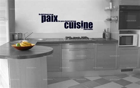 citations cuisine sticker citation on doit laisser en paix les gens
